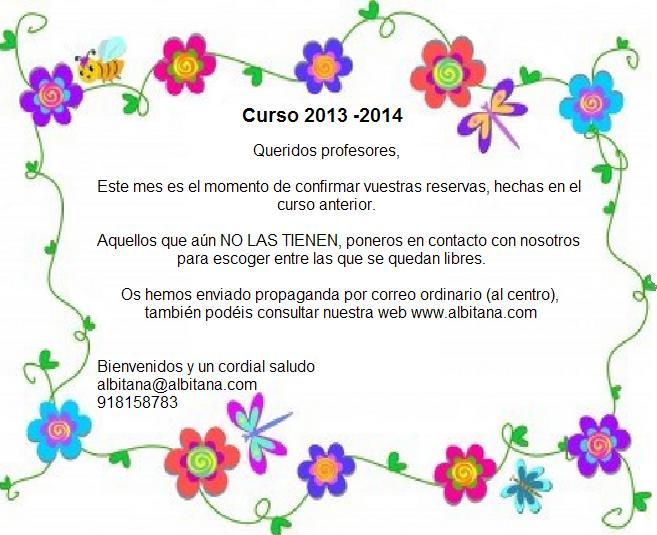 Curso 2013 – 2014
