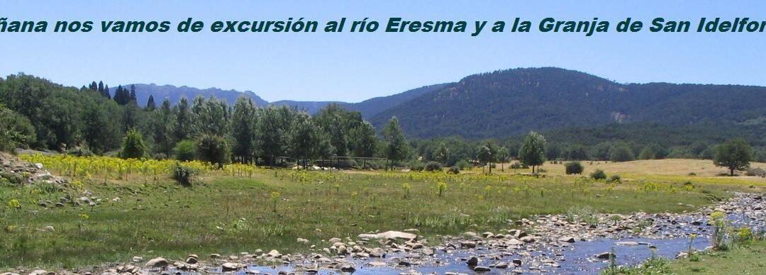 Mañana nos vamos de excursión al río Eresma y a la Granja de San Idelfonso