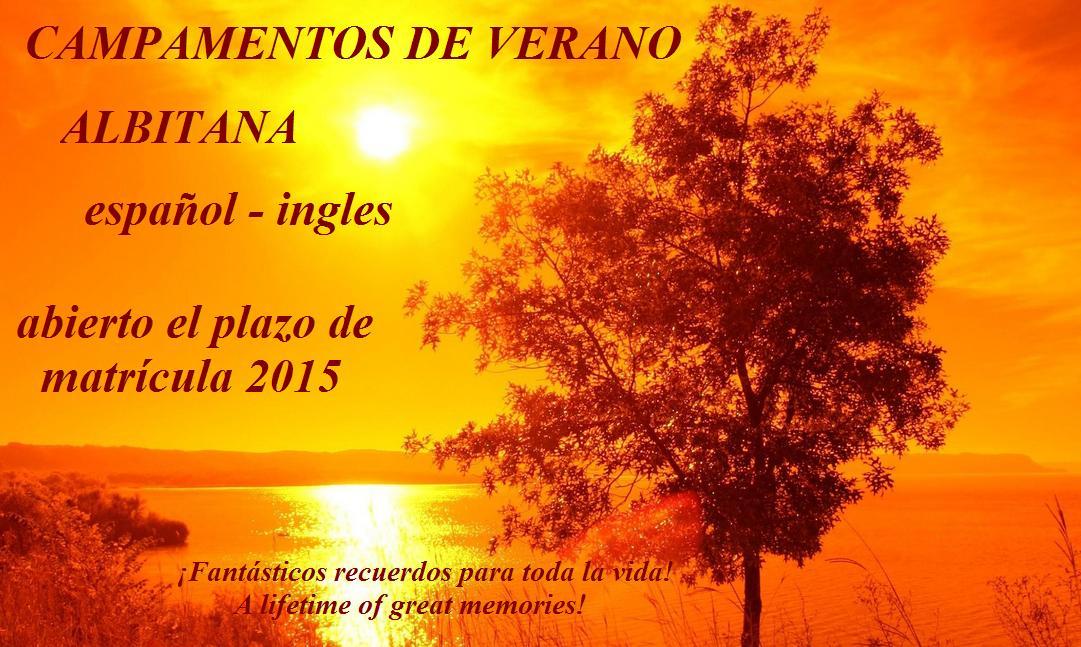 Campamentos de verano Albitana Español Ingles 2015