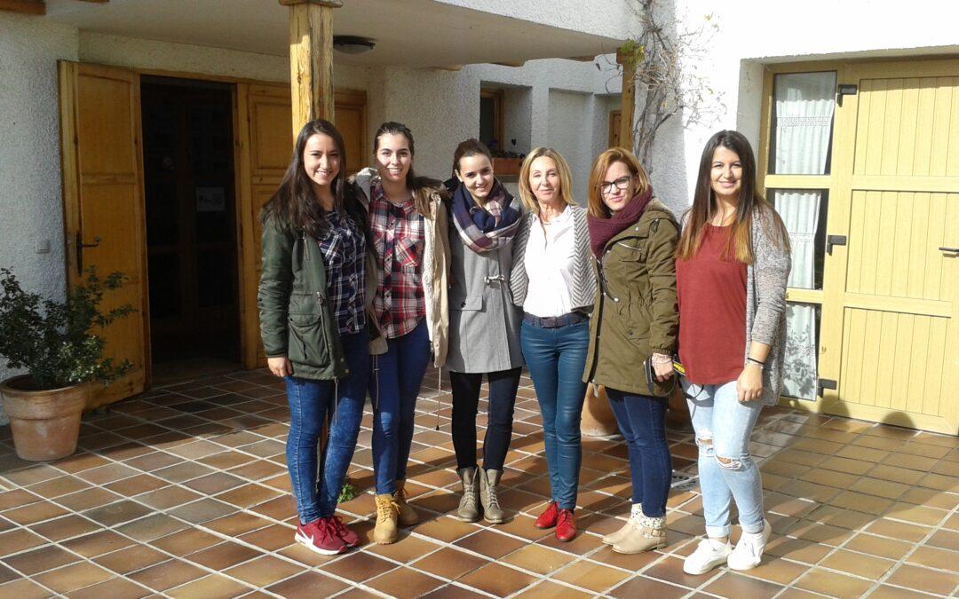 Visita de los estudiantes del Grado Superior de Educación Infantil IES Luis Buñuel Alcorcón