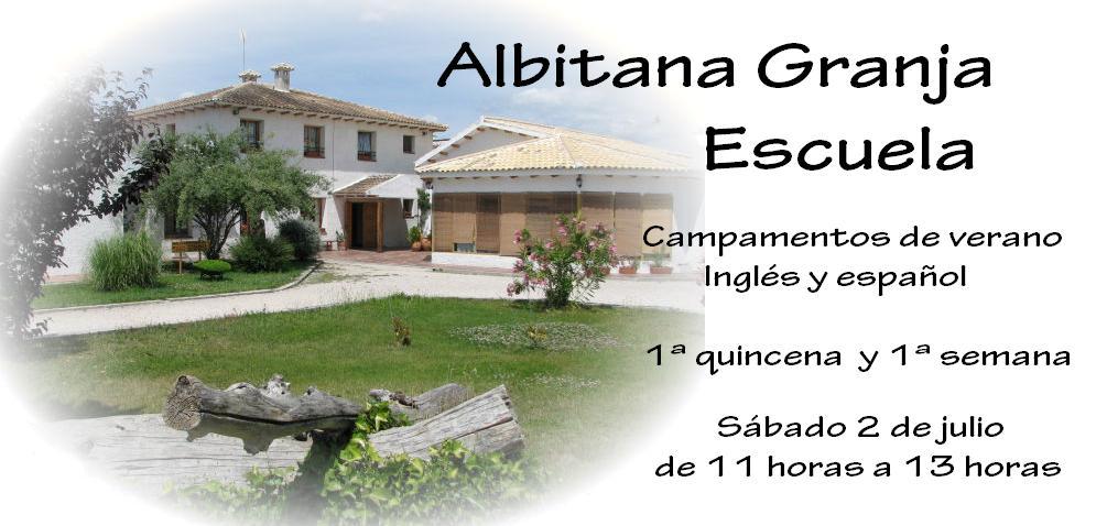 Entrada Campamentos de Verano Albitana 2016, 1ª quincena y 1ª semana, Sábado 2 de julio de 11:00 a 13:00