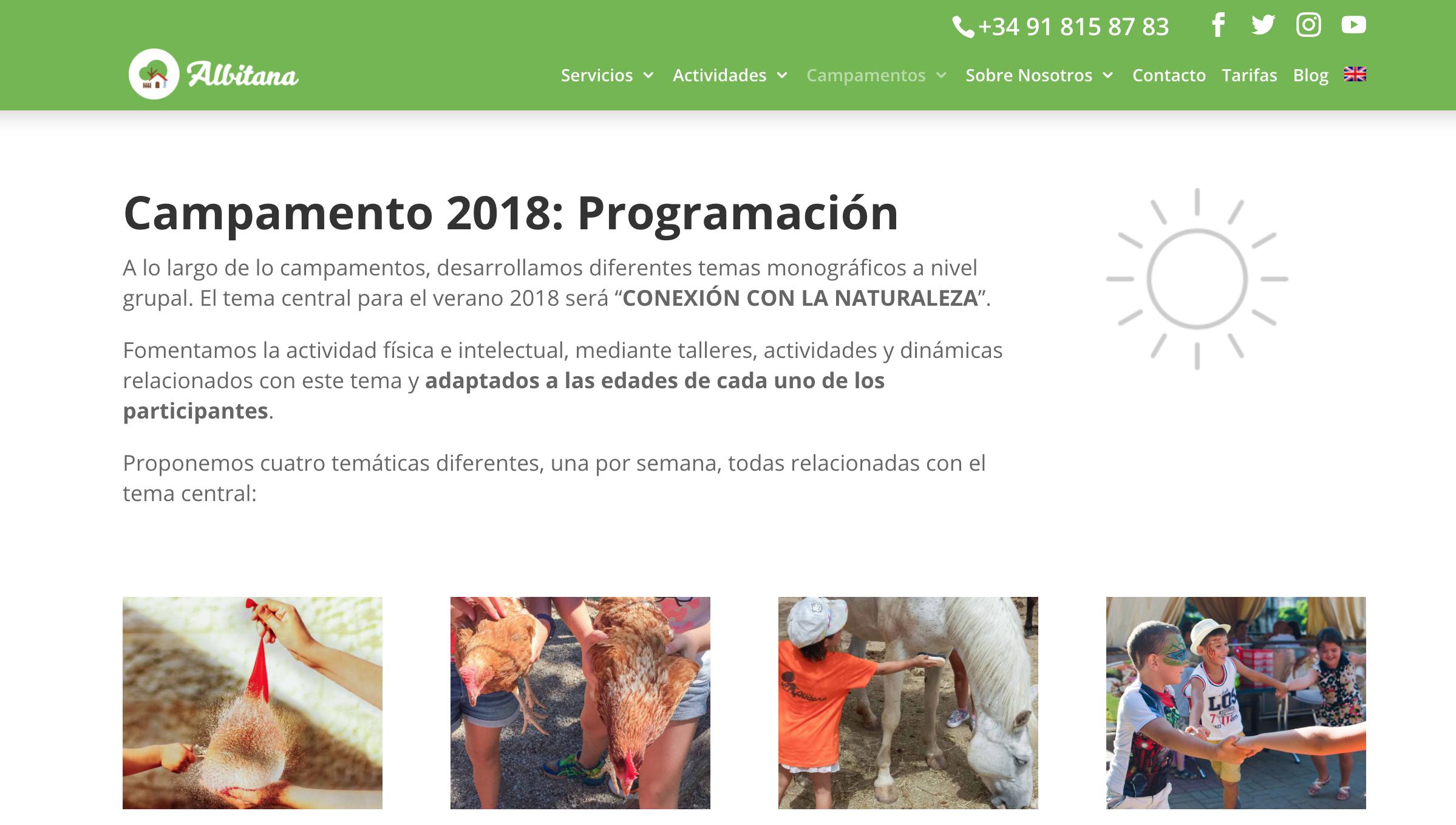 campamento de verano albitana madrid nueva web