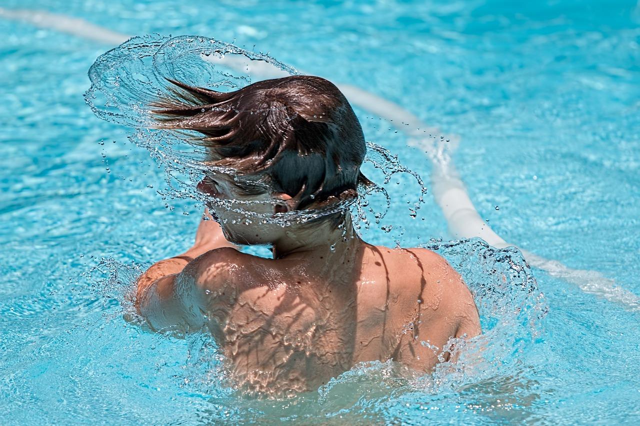 campamento de verano madrid, piscina