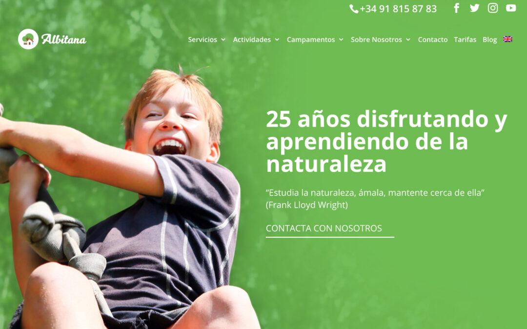 ¡ESTRENAMOS NUEVA WEB! – Granja Escuela Albitana