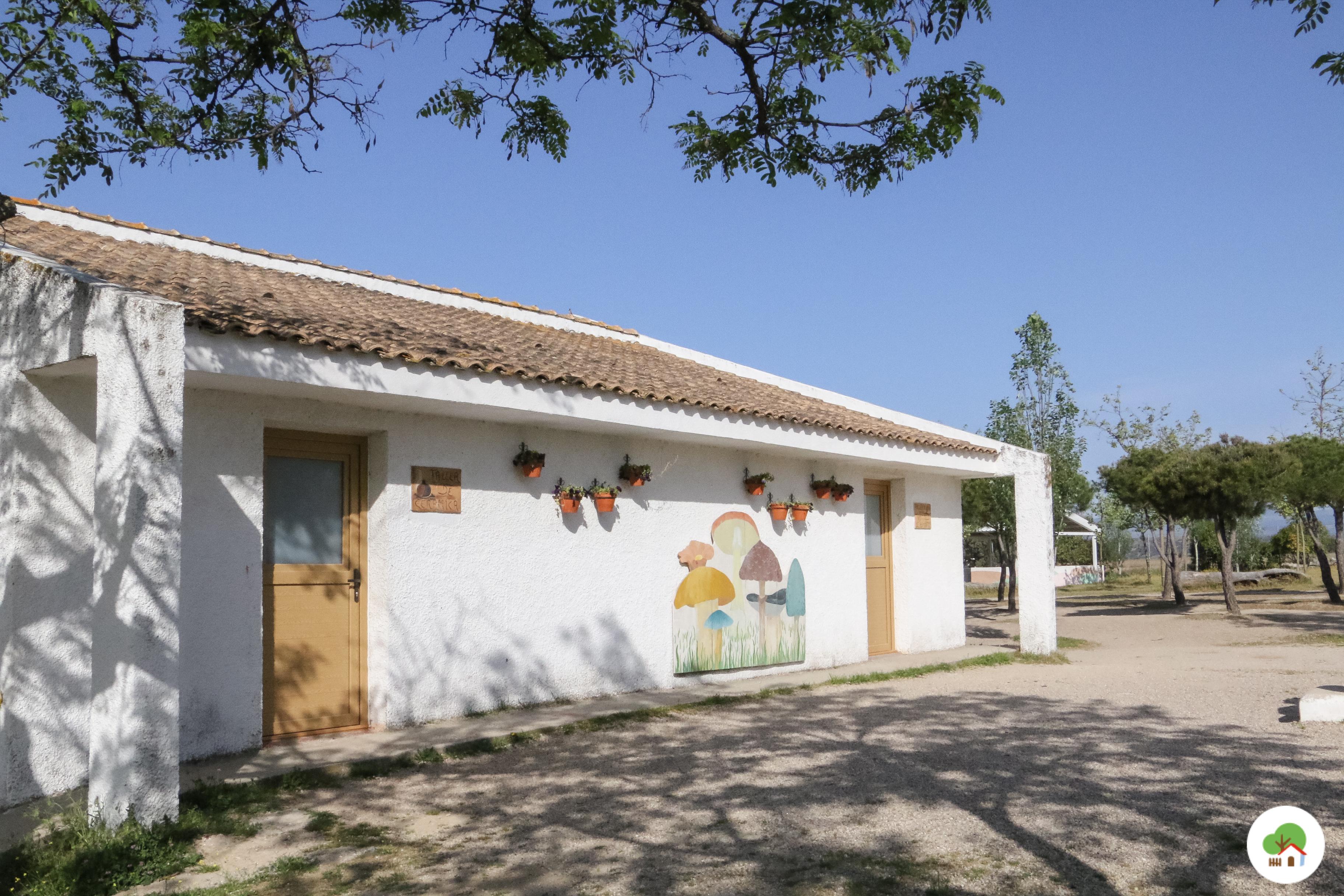 instalaciones permanentes campamento de verano albitana