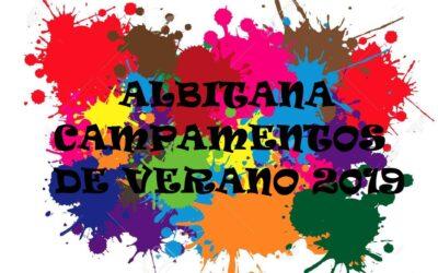 HORA DE ENTRADA CAMPAMENTOS ALBITANA (29/6/2019)