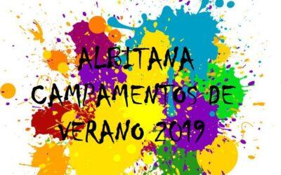 HORAS DE SALIDA / ENTRADA CAMPAMENTOS ALBITANA (6/7/2019)