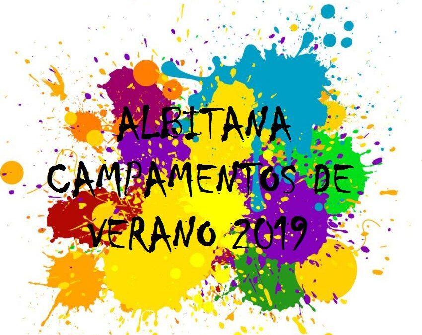 HORA DE ENTRADA / SALIDA CAMPAMENTOS ALBITANA (6/7/2019)